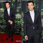 Robert Pattinson In Dior Homme – Lost City Of Z   LA Premiere
