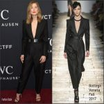 Rosamund Pike In Bottega Veneta  At 2017 IWC Schaffhausen 'For The Love Of Cinema' Gala