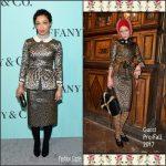 Ruth Negga In Gucci – Tiffany  & Co Blue Book Celebration Gala