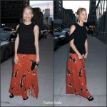 Sienna Miller In Proenza Schouler  At 'The Lost City of Z' New York Screening