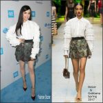 Sofia Carson In Dolce & Gabbana At  We Day California 2017