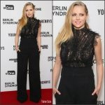 Teresa Palmer In J. Mendel At 'Berlin Syndrome' Sydney Premiere