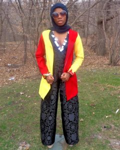 Fashion Sizzler Of The Day  – Hawwaa  Ibrahim Of Project Runway