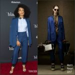 Yara Shahidi In Marni  At  ABC's 'Black-ish' FYC Event