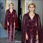 Zosia Mamet In Rebecca Taylor – American Express Celebrates the New Platinum Card With Hamilton Takeover Experience