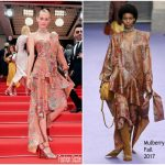Amber Valletta  In Mulberry  – 'Loveless (Nelyubov)' Cannes Film Festival Premiere