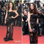 Andie MacDowell  In Roberto Cavalli Couture  – 'The Killing Of A Sacred Deer' Cannes Film Festival Premiere