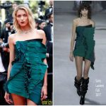 Anja Rubik  In Saint Laurent – 'The Killing Of A Sacred Deer' Cannes Film Festival Premiere