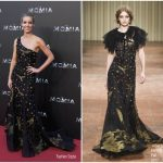 Annabelle Wallis In Alberta Ferretti – 'The Mummy' Madrid Premiere