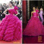 Araya A. Hargate In Zuhair Murad Couture – '120 Beats Per Minute' Cannes Film Festival Premiere