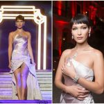 Bella Hadid  In John Galliano – Bulgario Goldea Roman Night  In Rome