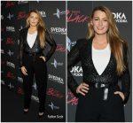 "Blake Lively  In Michael Kors -""Paint It Black"" New York Premiere"