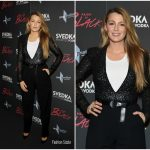 "Blake Lively  In Michael Kors -""Paint It Black"" New York Premiere"