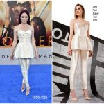 Caity Lotz  In John Paul Ataker  – Wonder Woman LA Premiere