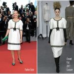 Carole Bouquet In Chanel – Cannes Film Festival 70th Anniversary Celebration