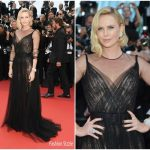 Charlize Theron In Christian Dior Couture – Cannes Film Festival  70th Anniversary Celebration