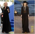 Charlize Theron In Dior – 70th Anniversary  Cannes Film Festival Photocall