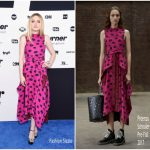 Dakota Fanning  In Proenza Schouler – Turner Upfront  Event