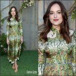 Dakota Johnson  In Gucci – Gucci Bloom fragrance New York Launch