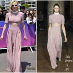 Diane Kruger In Emilia Wickstead –  70th Anniversary  Cannes Film Festival Photocall