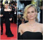 Diane Kruger  In Jonathan Simkhai  – 2017 Cannes Film Festival Closing Ceremony