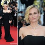 Diane Kruger  In Jonathan Simkhai  – 2017 Cannes Film Festival Closing Ceremony