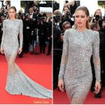 "Doutzen Kroes In Balmain  – ""The Beguiled"" Cannes Film Festival Premiere"