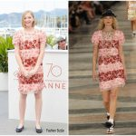 """Ekaterina Samsonov   In Chanel -""""You Were Never Really Here"""" Cannes Film Festival  Photocall"""