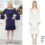 Elisabeth Moss  In Jonathan Simkhai  – 'Top Of The Lake: China Girl' Cannes Film Festival Photocall