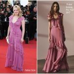 "Elisabeth Moss  In Prabal Gurung – "" The Beguiled"" Cannes Film Festival Premiere"