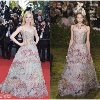 elle-fanning-in-christian-dior-couture-cannes-film-70th-anniversary-celebration-700×700