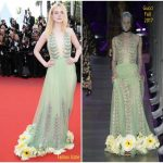 Elle Fanning In Gucci – 'How To Talk To Girls At Parties' Cannes Film Festival Premiere