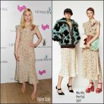 Elle Fanning In Miu Miu At  '3 Generations' New York Screening