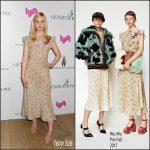 Elle Fanning In Miu Miu At  '3 Generations' New York Screening