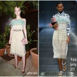 Elle Fanning In Prada – Prada Private Dinner At Cannes