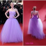 "Elle Fanning  In Rodarte  –  ""The Beguiled"" Cannes Film Festival Premiere"