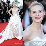 Elle Fanning In Vivienne Westwood Couture – 'Ismael's Ghosts' Cannes Film Festival Premiere