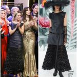 Elodie Bouchez  In Chanel – 70th Anniversary  Cannes Ceremony
