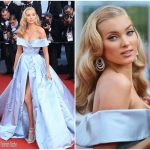 "Elsa Hosk  In Alberta Ferretti – ""The Beguiled"" Cannes Film Festival Premiere"
