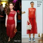 Emily Robinson  In Shrimps – NYLON Young Hollywood Party in LA