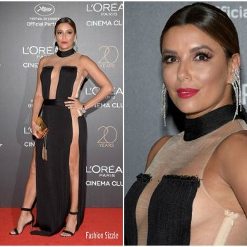 eva-longoria-in-balmain-loreal-20th-birthday-gala-700×700