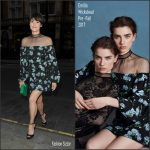 Gemma Arterton In Emilia Wickstead At  Scott's Restaurant