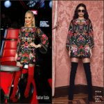 Gwen Stefani In  Alice + Olivia  – Season 12 of The Voice
