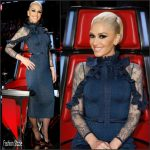 Gwen Stefani In  Elie Saab –  Season 12 of The Voice