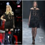 Gwen Stefani  In Marchesa – Voice Season 12 Finale