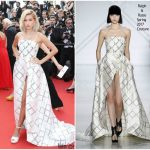 "Hailey Baldwin In Ralph and Russo – ""The Beguiled"" Cannes Film Festival Premiere"