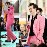 Harry Styles In Edward Sexton  Bespoke  Suit –  Today Show