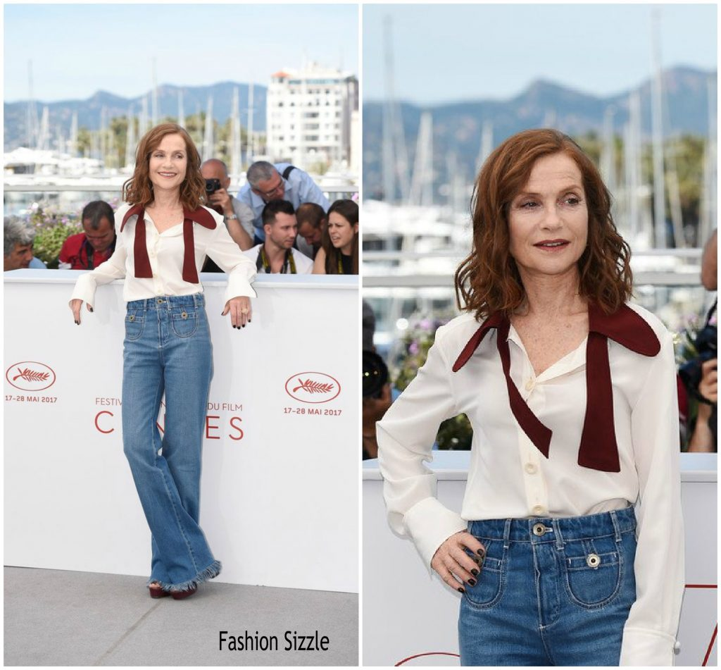 Isabelle Huppert In Chloé - Claires Camera Cannes Film ...
