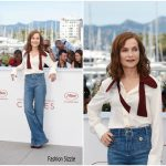Isabelle Huppert  In Chloé – Claires Camera Cannes Film Festival Photocall