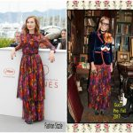 Isabelle Huppert  In Gucci  -Happy End' Cannes Film Festival Photocall